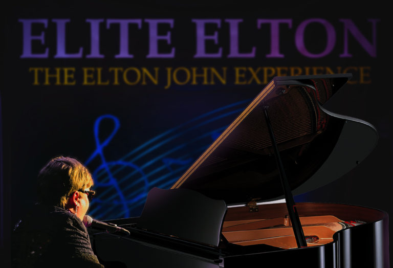 Elton John Tribute Elite Elton Playing Piano